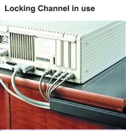 locking channel in use on computer desk icon
