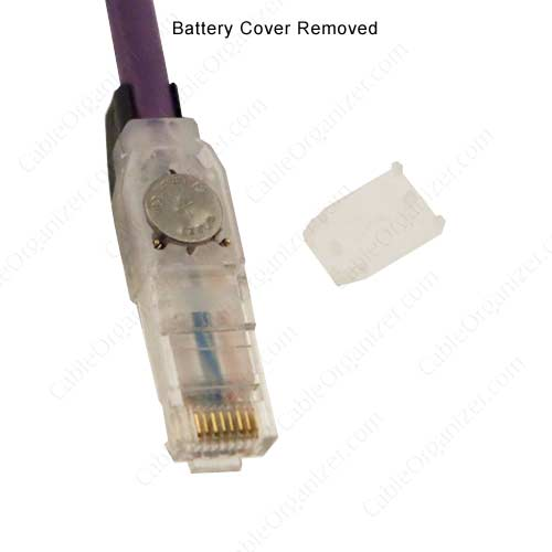 battery cover removed from EVO6 patch cord - icon