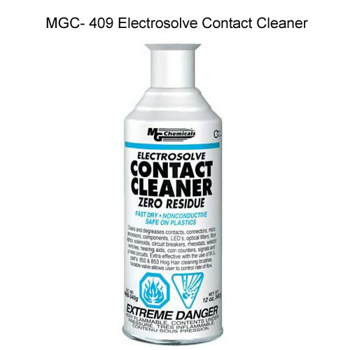 can of mg chemicals mgc-409 electrosolve contact cleaner icon