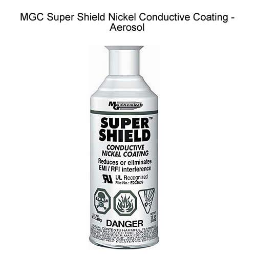 mg chemicals mgc-841 aerosol super shield nickel conductive coating icon