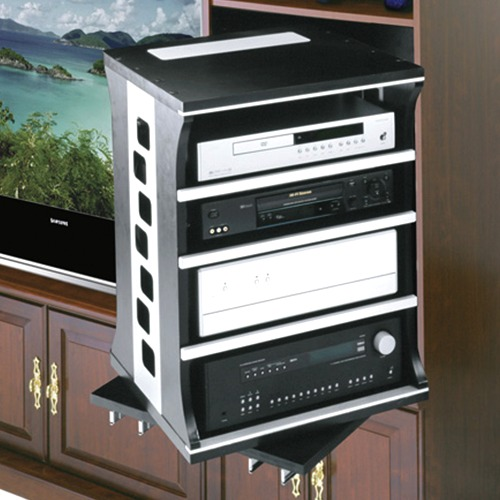 ASR-HD Series Heavy Duty Rotating Slide Out Shelving System