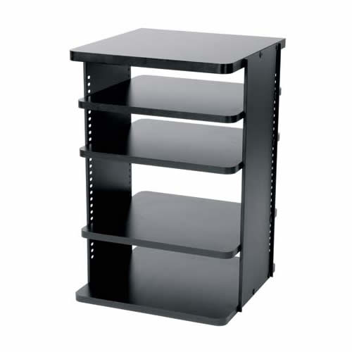 middle atlantic asr series rotating slide out shelving system empty - icon
