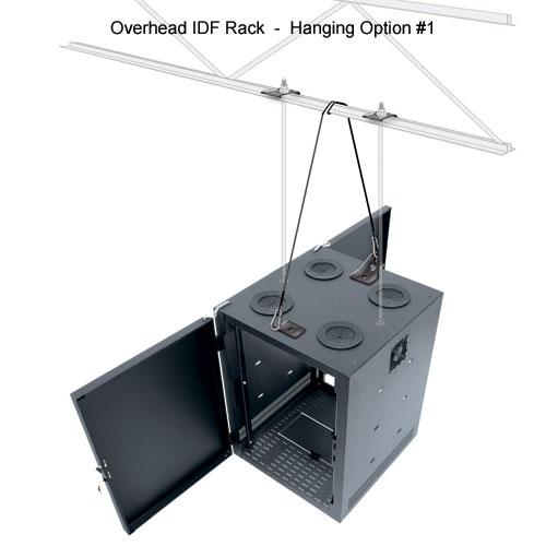 Overhead IDF Intermediate Distribution Rack