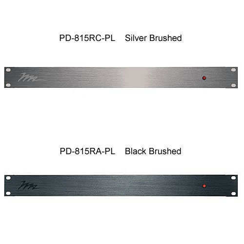 silver brushed and black brushed Middle Atlantic PD-815R Series Unswitched Power Strip icon