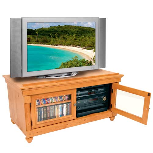 Middle Atlantic REB Series Rotating Sliding Base in use inside tv stand icon