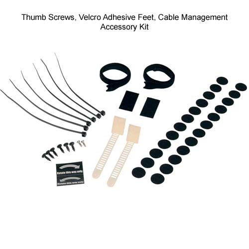 cable management kit components for Middle Atlantic REB Series Rotating Sliding Base icon