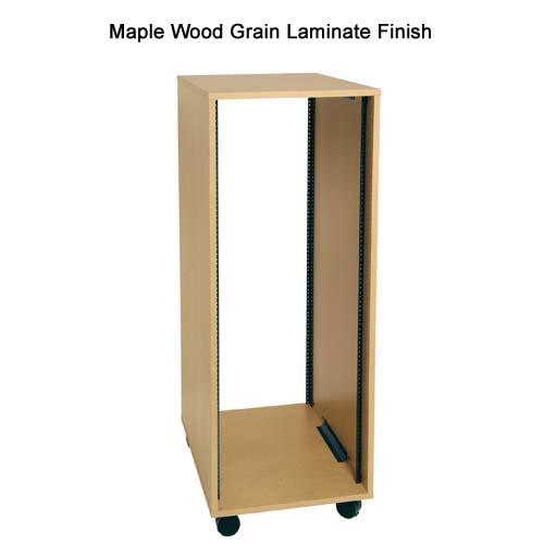 Middle Atlantic RK Series Laminate Enclosure with maple wood grain finish icon
