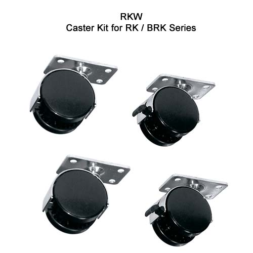 Middle Atlantic RK brk Series Laminate Enclosure caster kit icon