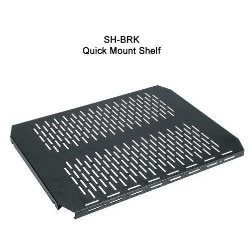 Middle Atlantic RK brk Series Laminate Enclosure quick mount shelf icon