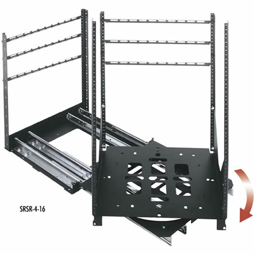middle atlantic srsr series rotating home theater rack - icon