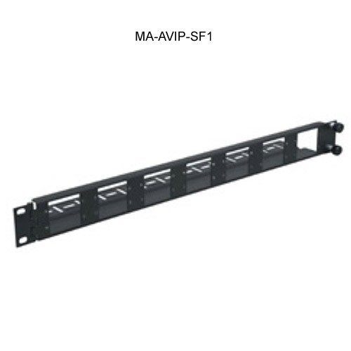 Middle Atlantic AVIP Rackmount Panel Swing out, 14 Single or 7 Dual