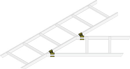 Middle Atlantic  Cable Ladders CL Series MA-CLH-ADJH