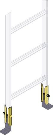 Middle Atlantic  Cable Ladders CL Series MA-CLH-RES