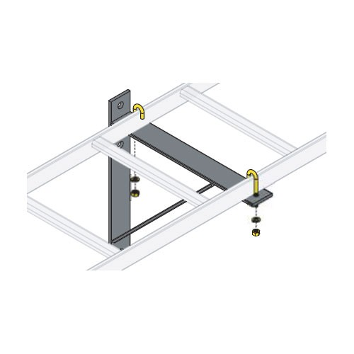 triangle wall support bracket