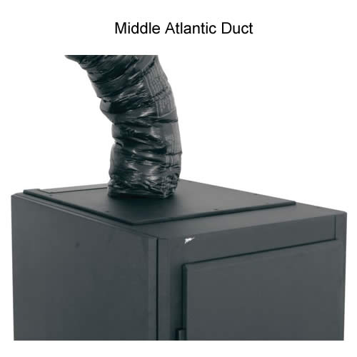 Middle Atlantic Duct running into cabinet icon