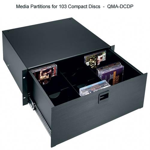 8U rack drawer with file hanging kit and keylock, TD8FLK - icon