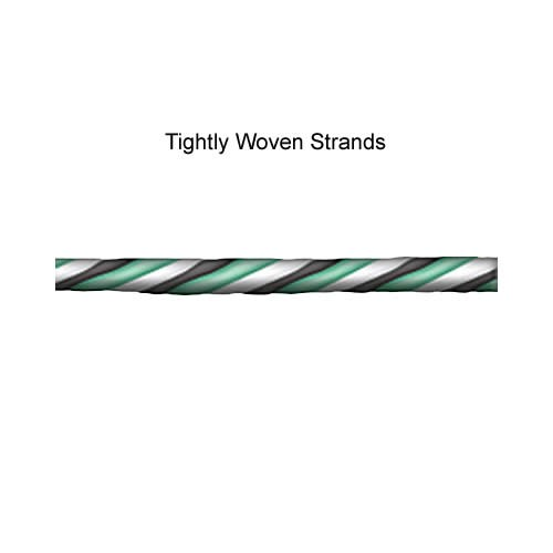 tightly woven strands as in the IEC Power Cords icon