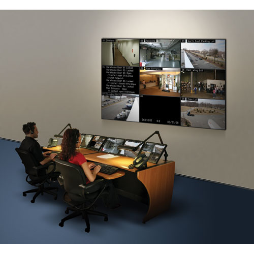 Middle Atlantic LCD Monitoring Command Desk in use icon