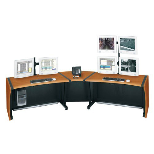LCD Monitoring Desks
