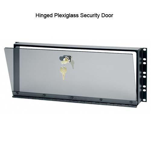 Middle Atlantic Hinged Plexiglass Security Door - icon