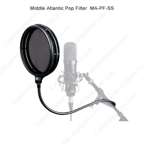 Middle Atlantic split screen pop filter, PF-SS - icon