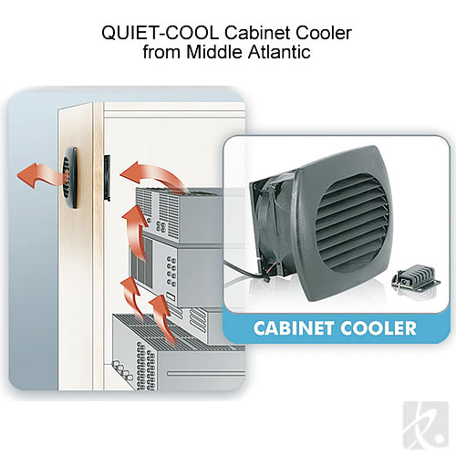 Quiet Cool Cabinet Cooler - icon