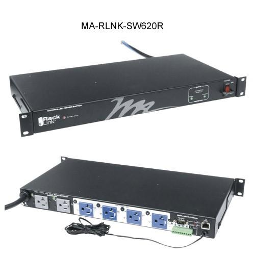 Middle Atlantic Racklink Managed Rack PDU 6 Outlets 2-Stage Surge