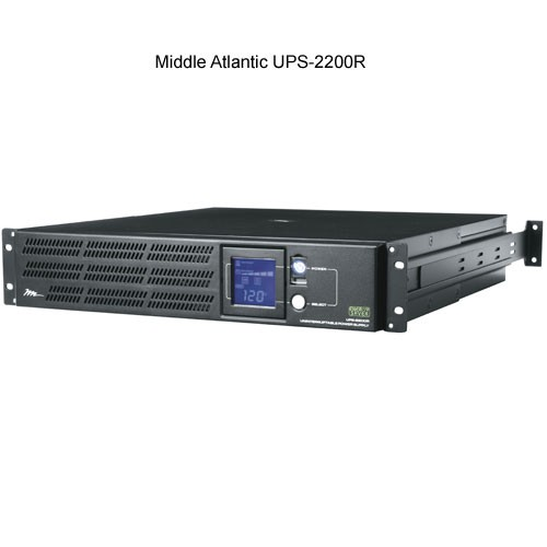 Middle Atlantic 2200r Uninterruptible Power Supply front view icon