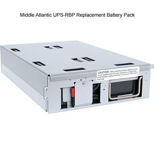 middle atlantic ups-rbp replacement battery pack front view icon