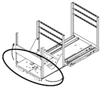 drawing of how SRSR cabinet rotates