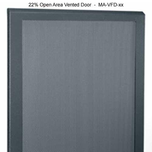 22 percent open area vented door for Middle Atlantic SR Series Pivoting Rack Enclosure icon
