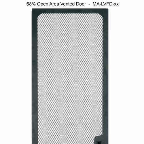 68 percent open area vented door for Middle Atlantic SR Series Pivoting Rack Enclosure icon