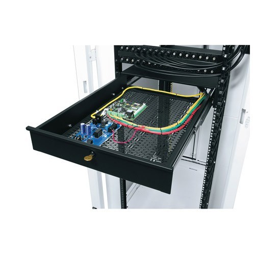 Middle Atlantic Universal Mounting Rack Drawer Application Open