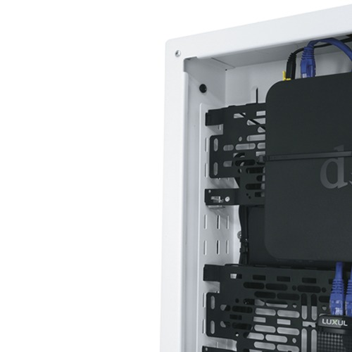 Convenient storage of AV system components