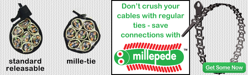 standard Mille-Tie protect cables