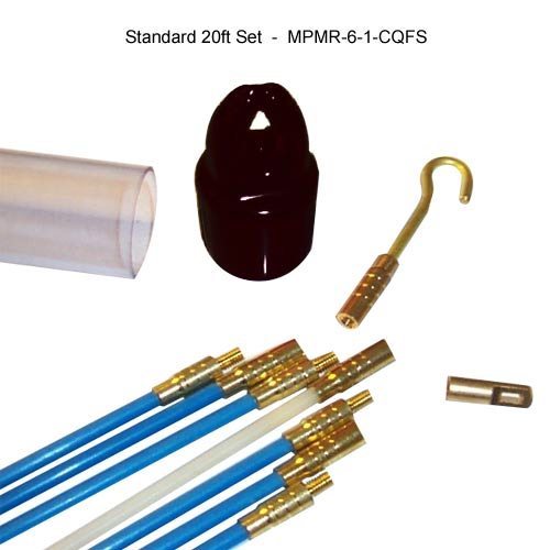 mille-rod 20 foot push pull rod kit components icon