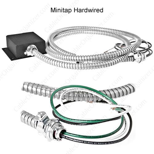 Hardwire power extension