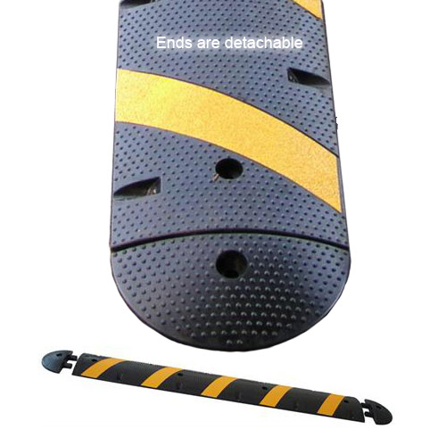 Modular Rubber Speed Bump with detachable ends - icon