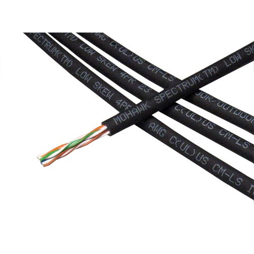 close up of Spectrum Low Skew Video Twisted Pair cable coil - icon