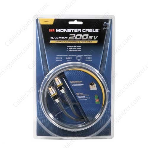 Monster Video High Resolution S-Video Cable pack - icon