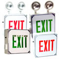 Wet Location LED Exit Sign