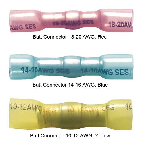 Multilink Crimp and Solder Sealed Butt connectors in various sizes - icon