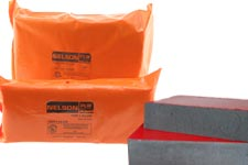 Nelson Firestop pillow, brick