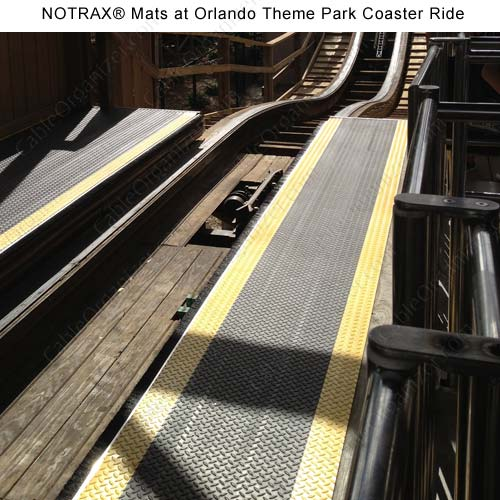 usage of notrax at Orlando theme park ride - icon