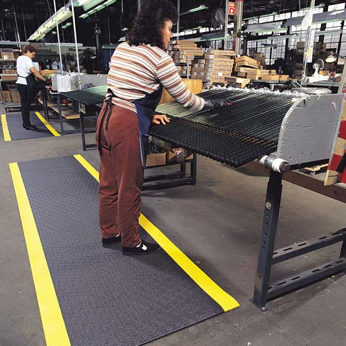 NOTRAX Pebble Step Sof-Tred mat in use at loom - icon