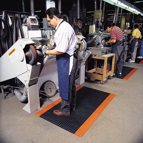 notrax saddle Trax Floor Mat in use at workstations - icon