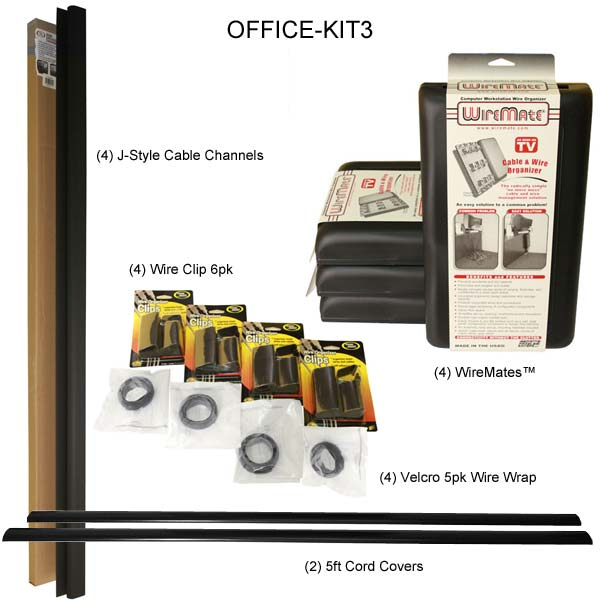 standard multiple 4 office organization kit components - icon