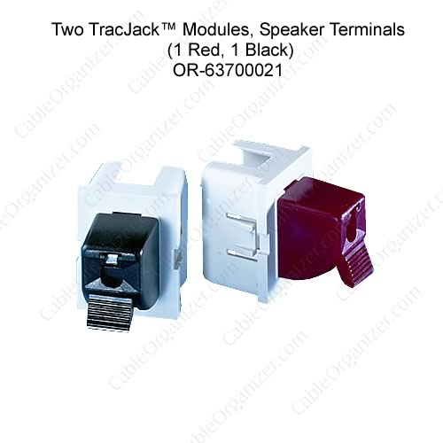 Ortronics Cat6 angled TracJack 63700021