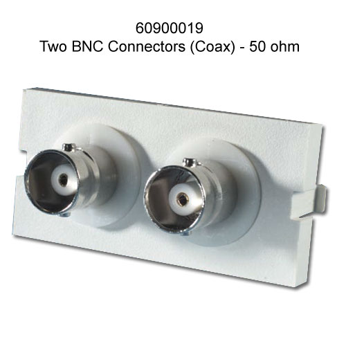 f/f coupler with 2 bnc connectors
