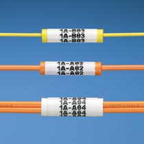 Label Core, Fiber Optic Cable, Flexible PVC, 2mm Simplex Cable, Aqua QTY: 100